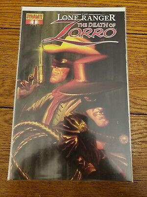 The Lone Ranger The Death of Zorro #1 Dynamite Entertainment NM