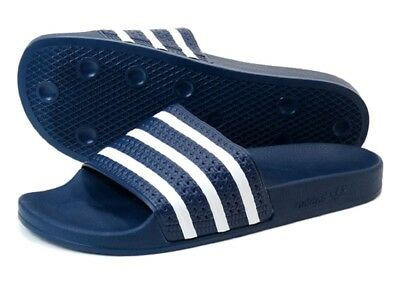c970926a5ca7eb New Adidas Originals Men s Adilette Sandals Slides ~ Size Us 11 ~  288022  Navy