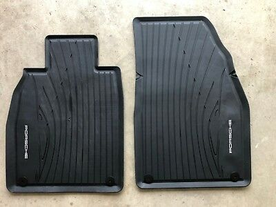 Porsche TEquipment All Weather Floor Mats 98104480041 (2 mats)