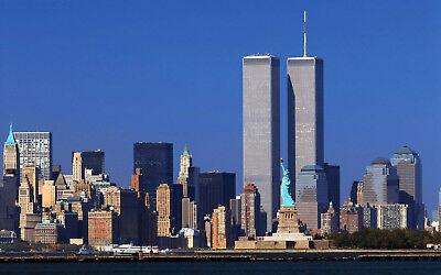 World Trade Center Glossy Poster Picture Photo Statue Of Liberty Twin Towers Wtc