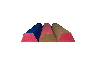 Sectional Balance Beam for gymnastics 4ft for kids (3 colors blue brown pink)