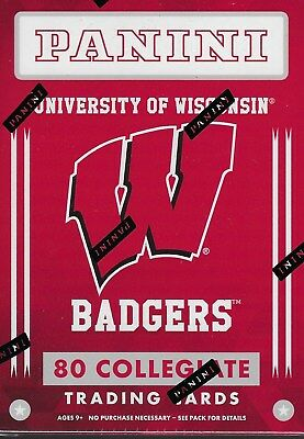 2015 Panini Univ. of Wisconsin Badgers Multi-Sport Trading Cards Blaster Box FS
