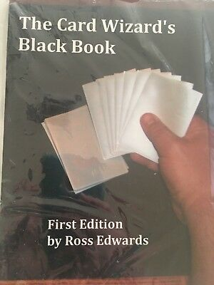 The Card Wizards Black Book 1st Edition Ross Edwards NEW
