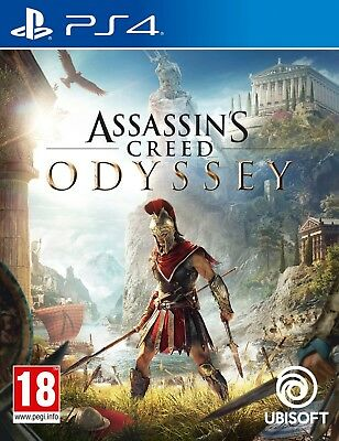 Assassin's Creed Odyssey (PS4) Neuf Scellé Envoi Rapide Disponible