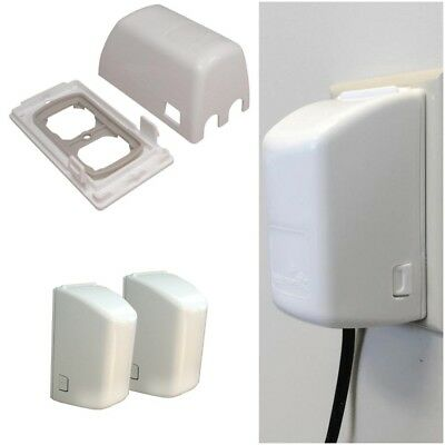 Outlet Cover Child Safety Easy Installation Mounting On Standard Outlets  2/Pack