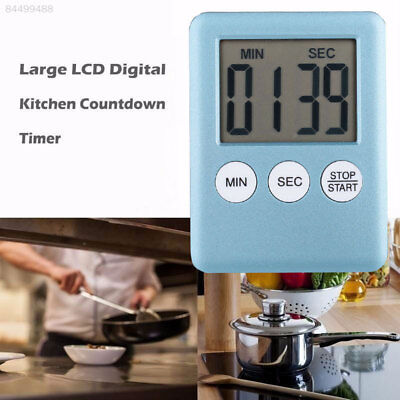 E243 Kitchen Electronic Timer LED Digital Pizza Coutdown Alarm Clock Learning