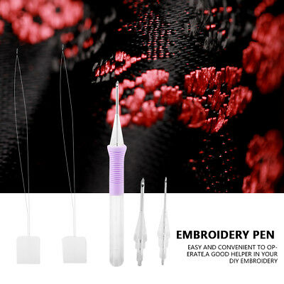 1.31.62.2mm DIY Diameter Embroidery Magic Embroidery Pen Clothing Punch Needle