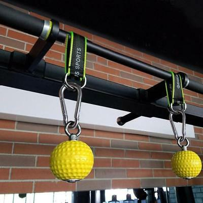 Grip Ball Cannonball Balls Barbell Lanyard Wrist Pointing Bodybuilding Pull-Up