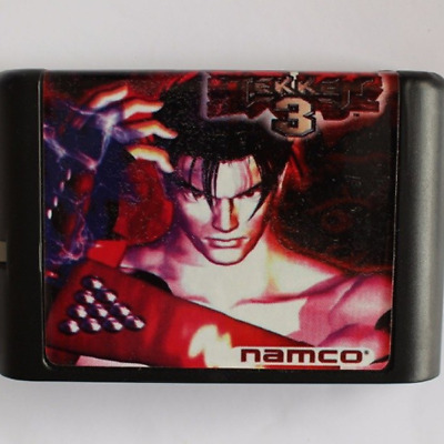 Tekken 3 16 bit MD Game Card For Sega Mega Drive For SEGA Genesis