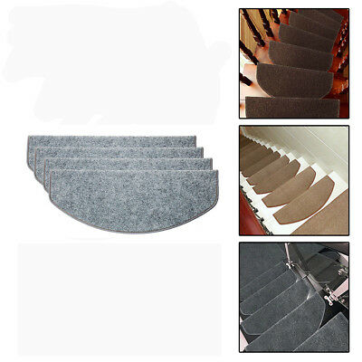 Self-adhesive Non-slip Carpet Stair Treads Mats Staircase Step Floor Cover Mat