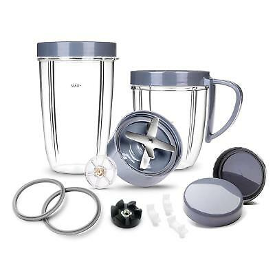 Deluxe 14-Piece Set Replacement Parts for NutriBullet 900W/600W Series