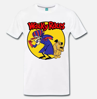 T-Shirt Maglia Wacky Races Dastardly And Muttley - Cartone Anni 80 - Cult - 2