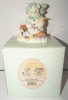 2003 Cherished Teddies 112388 DANA Snowbear Life Is So Much Smore With You BOX