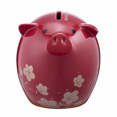 Starbucks Taiwan 2019 Chinese lunar year of pig piggy bank money box