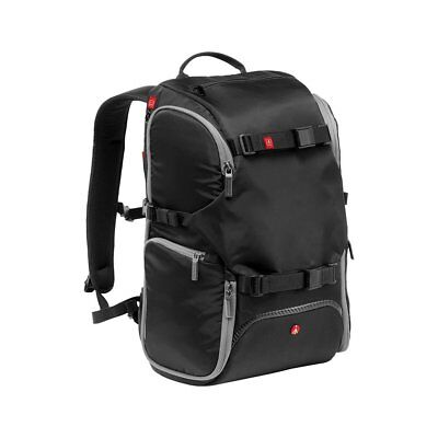 New Manfrotto Advanced Travel Camera BackPack *UK STOCK* MB MA-BP-TRV - Black