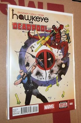 HAWKEYE vs DEADPOOL #0 - SpiderVerse- 1st Cameo App. SPIDER GWEN - LADY THOR