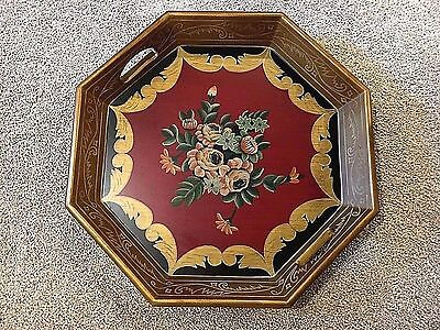 Toleware Knowledgeable 3 Vintage Italian Florentine Tollware Trays Decorative Arts