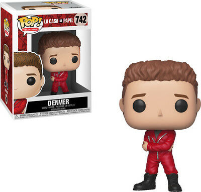 Money Heist - Denver - Funko Pop! Television: (2018, Toy NEUF)