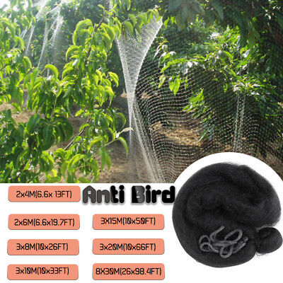 Garden Netting Anti Bird Pond Net Protection Veg Crops Plants Fruit Fine