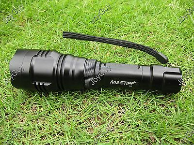 Mastiff M2 5W 850nm LED Infrared Radiations IR Night Vision Flashlight Torch New