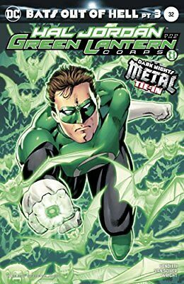 Hal Jordan The Green Lantern Corps #32 Variant Ed Metal Nm 1St Print