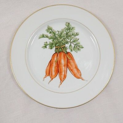 """VEGETABLE HARVEST by Fitz & Floyd Carrots Luncheon Plate 9 1/8"""""""