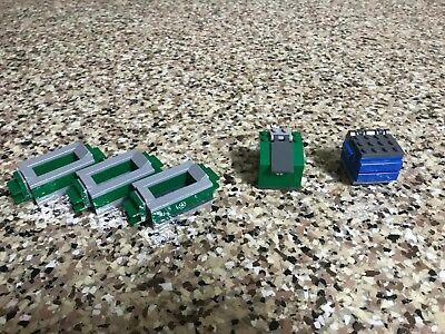LEGO Lot Of 5 Various Trash and Recycle Cans/Bins form 60118, 10243, and 60000