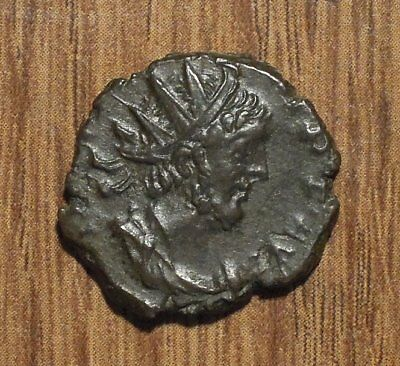 Tetricus I Antoninianus - Ancient Roman Gallic Bronze Coin #3