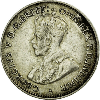 [#681612] Coin, Australia, George V, Threepence, 1928, EF(40-45), Silver, KM:24