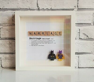 Definition of MARRIAGE • Superhero Mini Figure & Scrabble Frame (Star Wars)