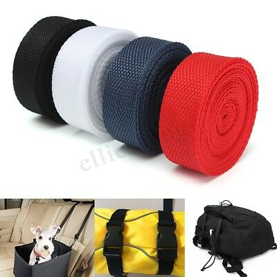 25mmx4m Nylon Webbing Tape For Making DIY Craft Backpack Strapping Apron
