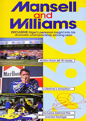 Mansell And Williams 1992 DVD