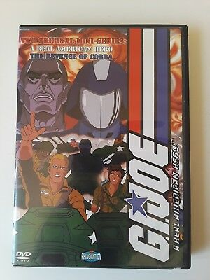 GI JOE 2 disc DVD Box Set contains A Real American Hero & Revenge Of Cobra