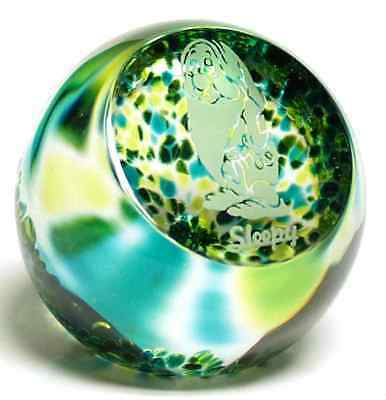 Caithness Glass SNOW WHITE Sleepy Paperweight 5592410