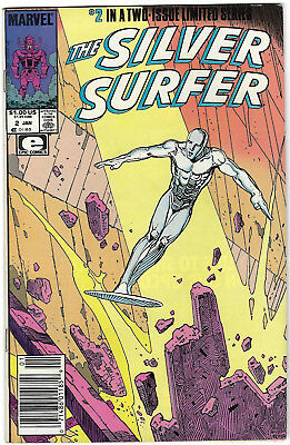 "1989. ""The SILVER SURFER"". Marvel comic Vol.1.#2. 2nd in 2-issue limited series."
