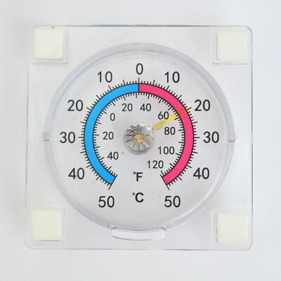 STICK ON Window Garden THERMOMETER Greenhouse Conservatory FAHRENHEIT/CENTIGRADE