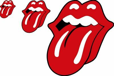 3 SIZES the rolling stones lips tongue decal sticker rock roll bumper laptop