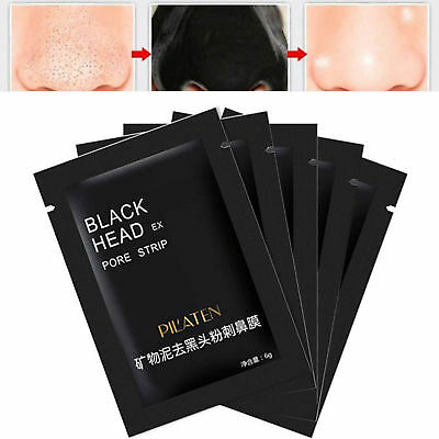 10 Blackhead Removal Face Nose Pore MASKS Cleansing Strips Off Spots Removal