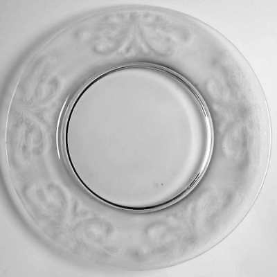 Tiffin Franciscan BYZANTINE CLEAR Luncheon Plate 1376230