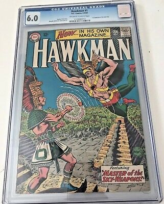 Hawkman #1 Graded CGC 6.0 DC 1964 Justice League JLA  1st in own title -Hawkman