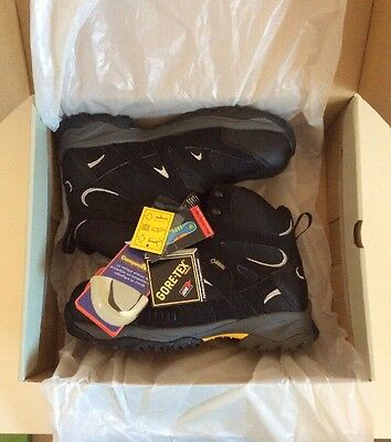 Gore-Tex Boots Trojan Safety Hiker Leather Boot UK6 US7 EUR39 New!