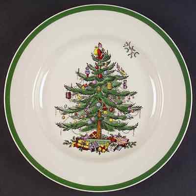 Spode CHRISTMAS TREE (GREEN TRIM) Dinner Plate 8637271