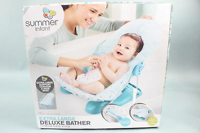Striped Whales Summer Infant Extra Large Deluxe Bather