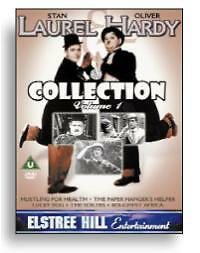 Laurel And Hardy Collection - Vol. 1 (DVD, 2003) 5 Features