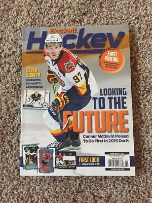 Connor Mcdavid Beckett Magazine Full Issue