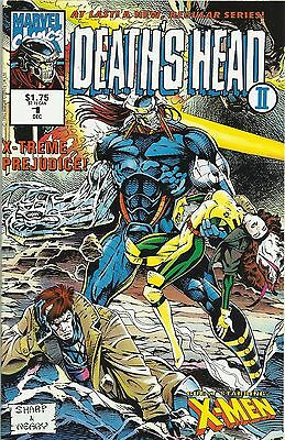 Death's Head II # 1, X-Men, Marvel UK 1992