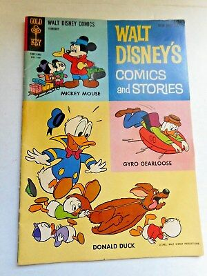 Walt Disney's Comics and Stories 1962 Walt Disney Productions Very Nice Comic !
