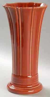 "Homer Laughlin FIESTA PAPRIKA (CONTEMPORARY) 9 5/8"" Flared Vase 8592369"
