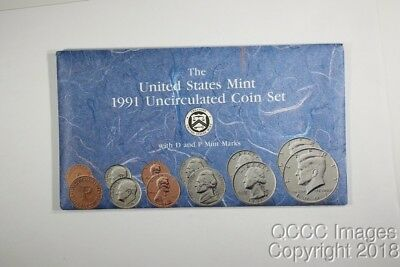 1991 US Mint Set / Nice Original Packaging / No stickers or writing