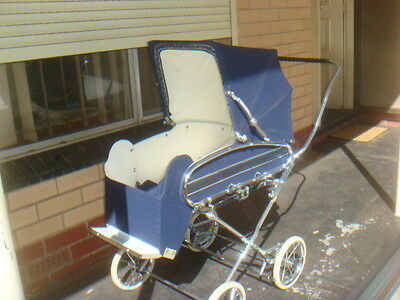 Antique / Vintage, Silver Cross, Elegant Pram, Like New Condition